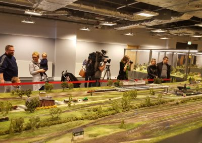 "Exhibition of railway model ""Makieta City"""