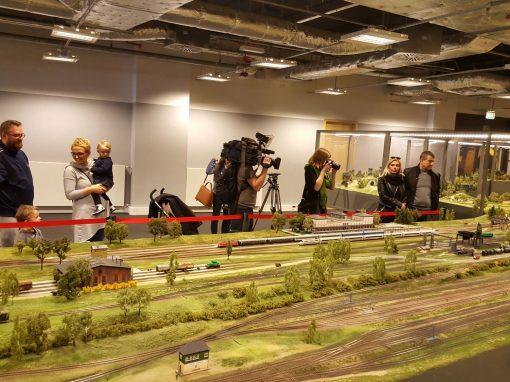Wystawa makiety kolejowej Makieta City
