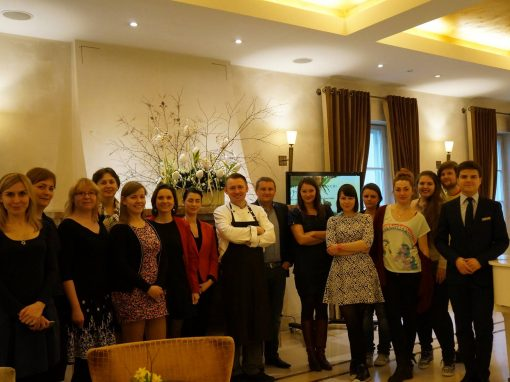 Spotkanie bloggerów w restauracji La Rotisserie