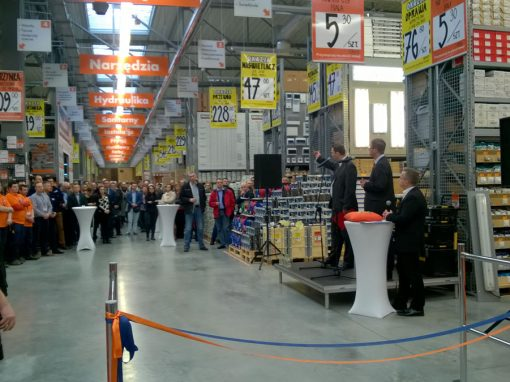 Opening of Bricoman store in Szczecin